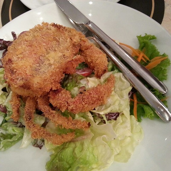 Soft Shell Crab Salad @ Coffee Beans by Dao @ Siam Paragon