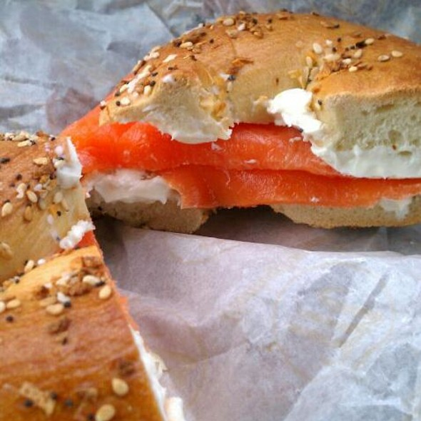 Atlantic Lox & Cream Cheese on a Bagel
