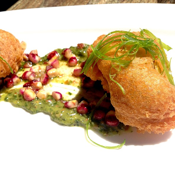 Crispy Squash Blossoms - Solace & The Moonlight Lounge, Encinitas, CA