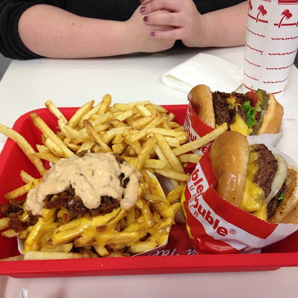 Double Double W/ Animal Style Fries @ In-&-Out Burger (Trop & 95)