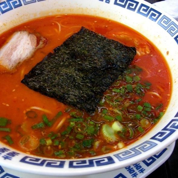 Spicy Miso Pork Bone Ramen @ Menya Shinchan