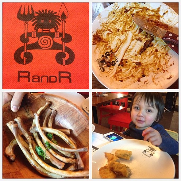 @rnrproductions are having dinner at RandR. Coincidence? @ Ribs and Rumps