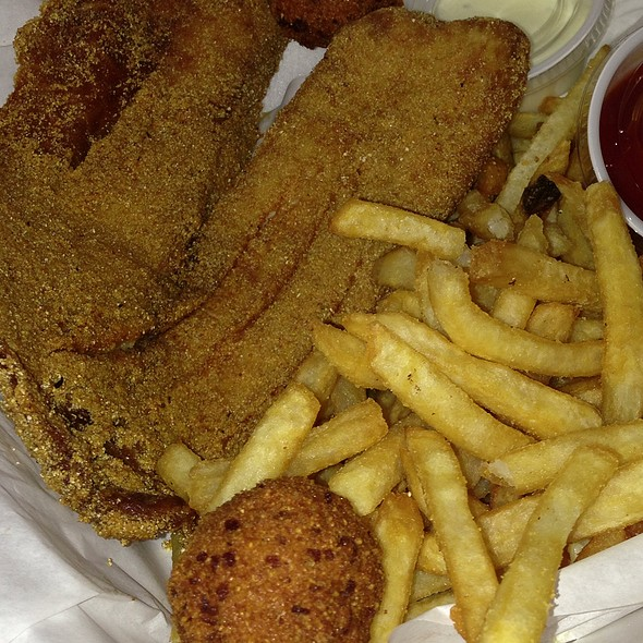 Fried Tilapia @ Flying Fish
