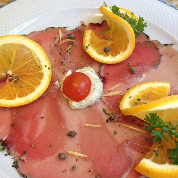 Ahi tuna - Mezzogiorno, New York, NY
