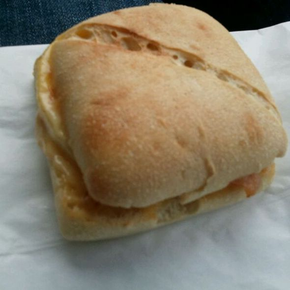 Bacon, Egg, And Gouda Breakfast Sandwich @ Starbucks Coffee