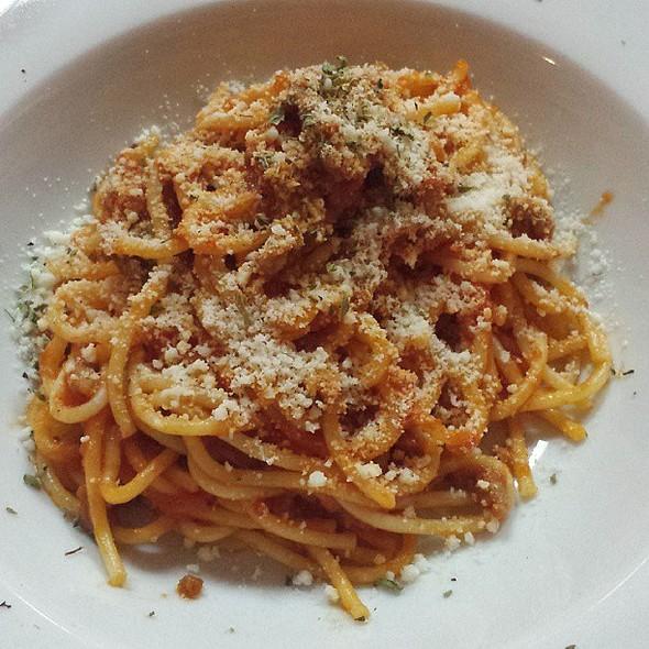 Spaghetti bolognesa @ Danubio Alameda