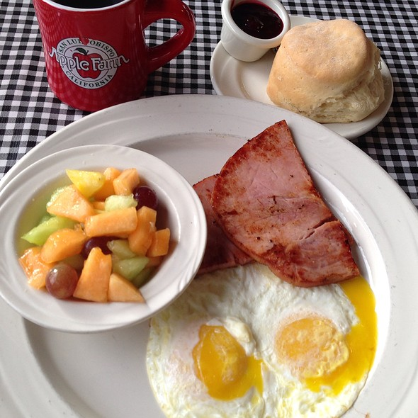 Ham & Eggs - Apple Farm Restaurant, San Luis Obispo, CA