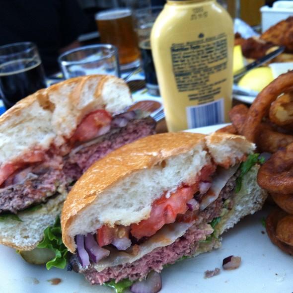 Cheeseburger @ Marin Brewing Company