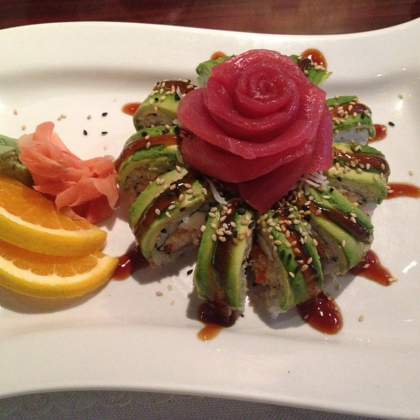 Rose Roll @ Ban Thai and Sushi
