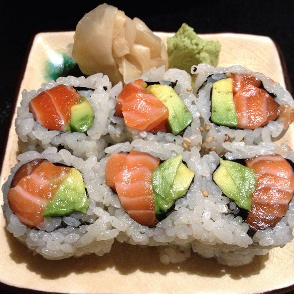 Salmon Avocado Roll - Sushi Yasaka, New York, NY