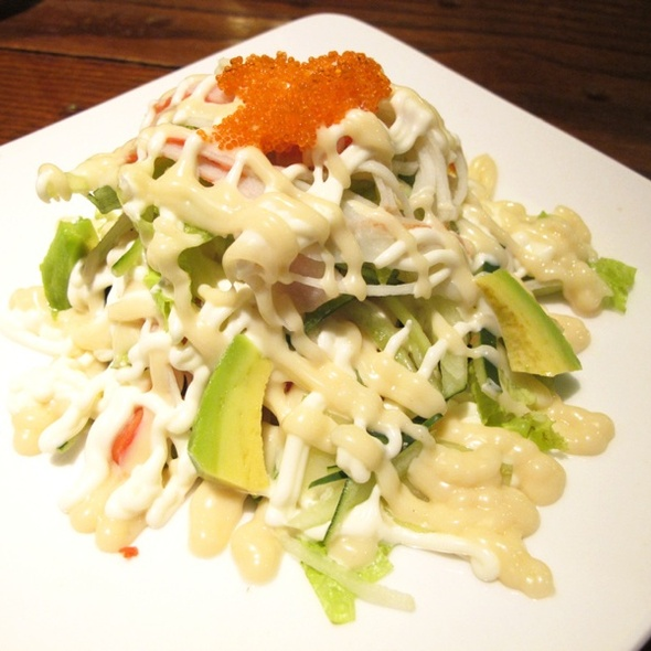 Kanimayo Salad @ Takigawa Grand Indonesia