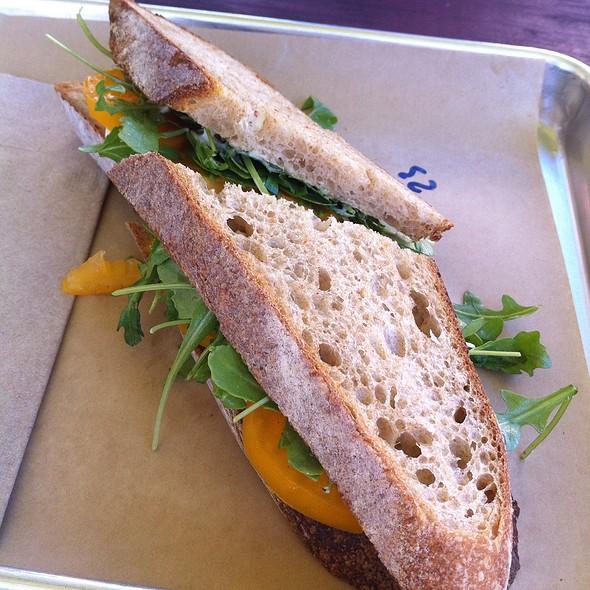 Caprese Sandwich @ Slow