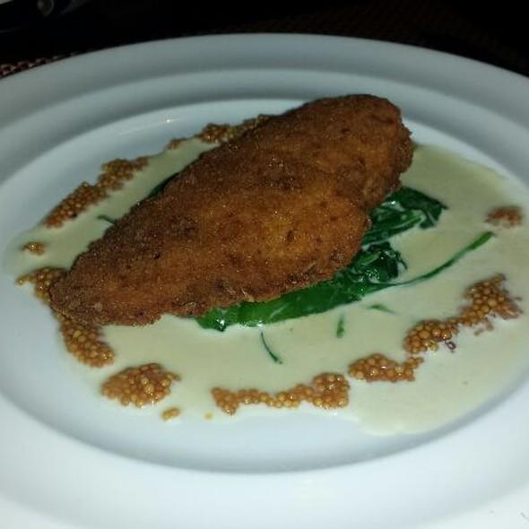 Pretzel Crusted Chicken - Westend Bistro DC, Washington, DC