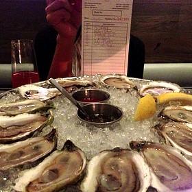 Assorted Raw Oysters - Island Creek Oyster Bar, Boston, MA
