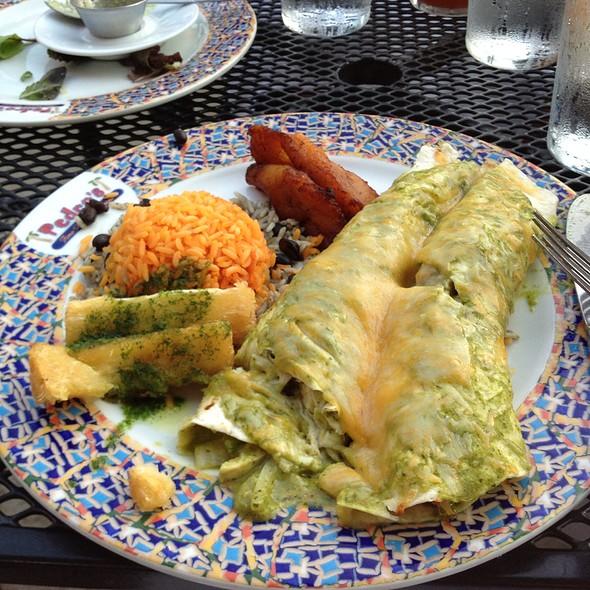 Chicken Enchiladas - La Casa De Pedro, Watertown, MA
