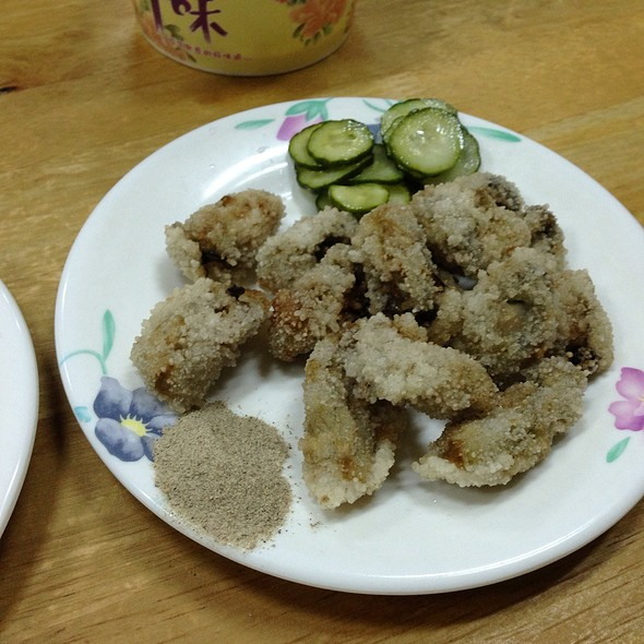 Deep Fried Oysters @ 三娘香菇肉粥
