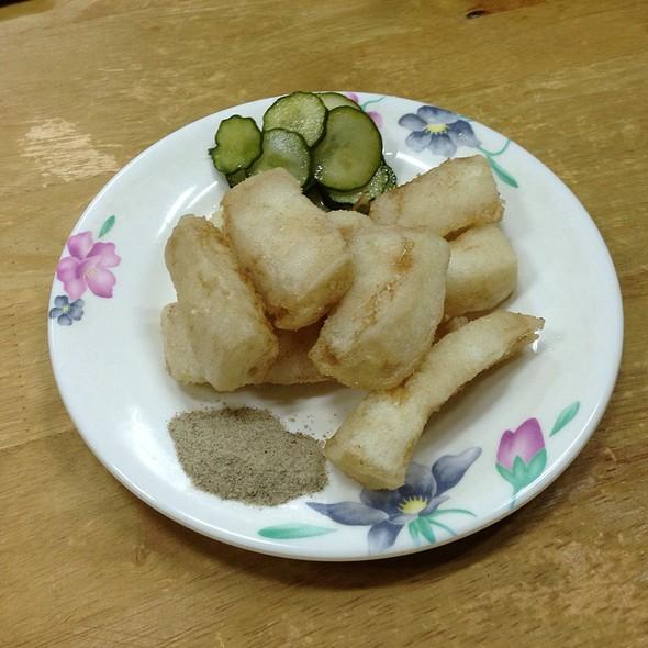 Deep Fried Squids  @ 三娘香菇肉粥