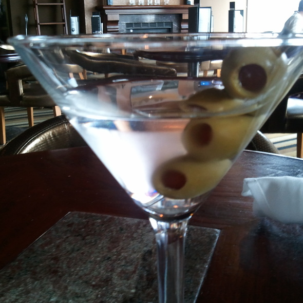 Grey Goose martini w/ 3 olives - Boathouse New Westminster, New Westminster, BC