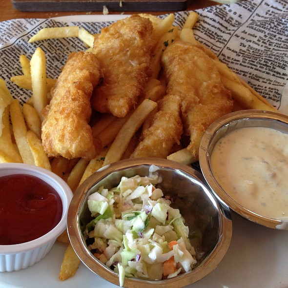 Fish and Chips - Gladstone's Long Beach, Long Beach, CA