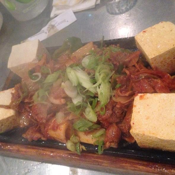 Kimchi Stirfry Pork