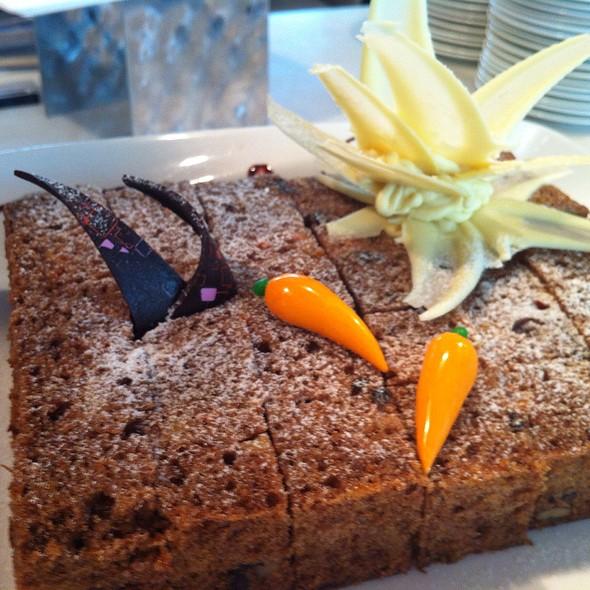 Carrot Cake @ Woodside Restaurant @ Parkyard Hotel Shanghai