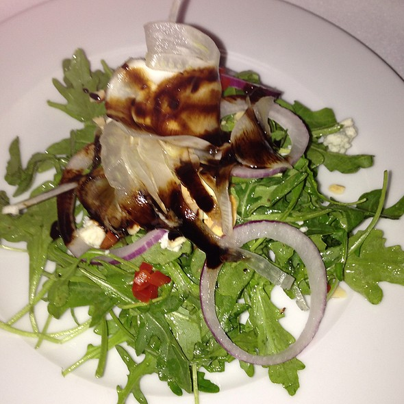Arugula, Fennel, Blue Cheese Salad - Novo Restaurant, San Luis Obispo, CA