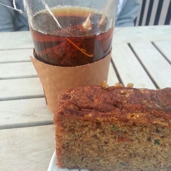 Homemade Cake and Earl Grey tea