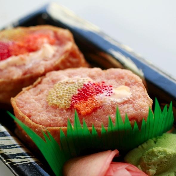 Spicy Tuna Rolls @ Foragers Market