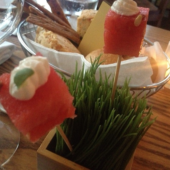Watermelon Amuse-bouche @ Park Avenue Summer