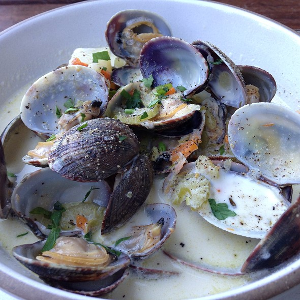 Clam Chowder @ Hog Island Oyster Co.