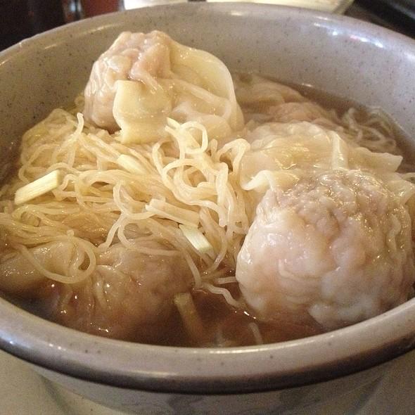 Wonton Noodle Soup @ Noodle Village