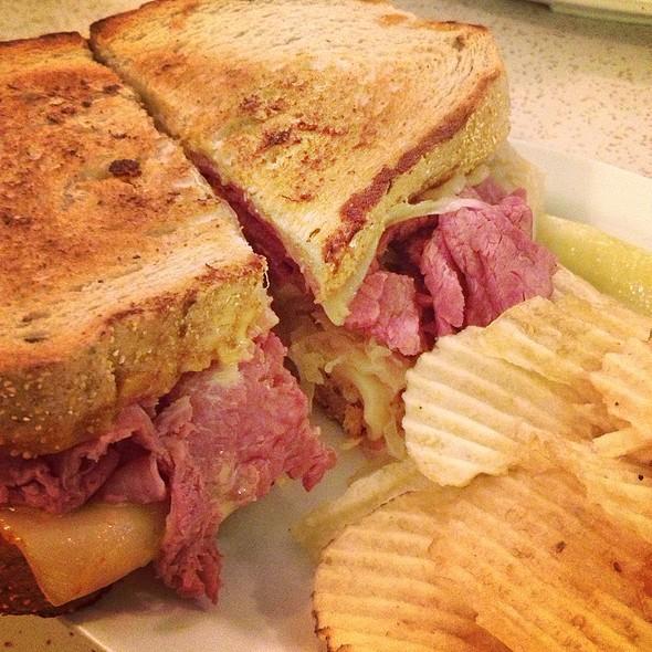 Rueben Sandwich @ Crown Candy Kitchen