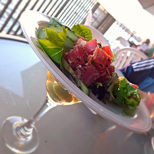 Ahi Poke & Grey Goose @ The Edge Of Waikiki