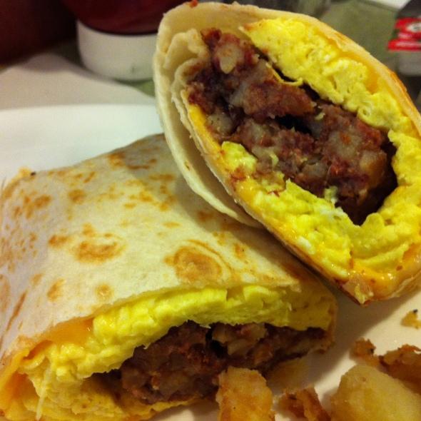 McNulty's Hash Wrap @ Bedford Street Diner