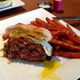 Hatteras Burger - Circa 81 Tapas & Cocktaileria, Morehead City, NC