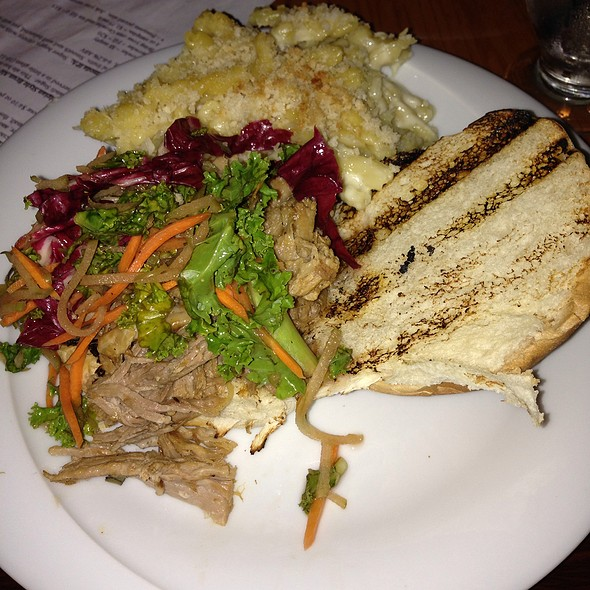Pulled Pork Sandwich @ Galaxy Brewing Company