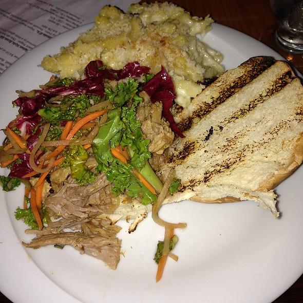 Pulled Pork Sandwich @ Galaxy Brewing Company