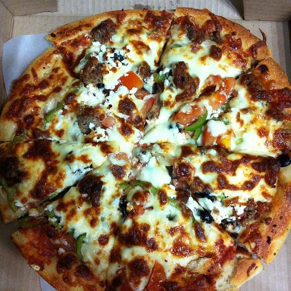 Greek Pizza @ Zorro's Pizza