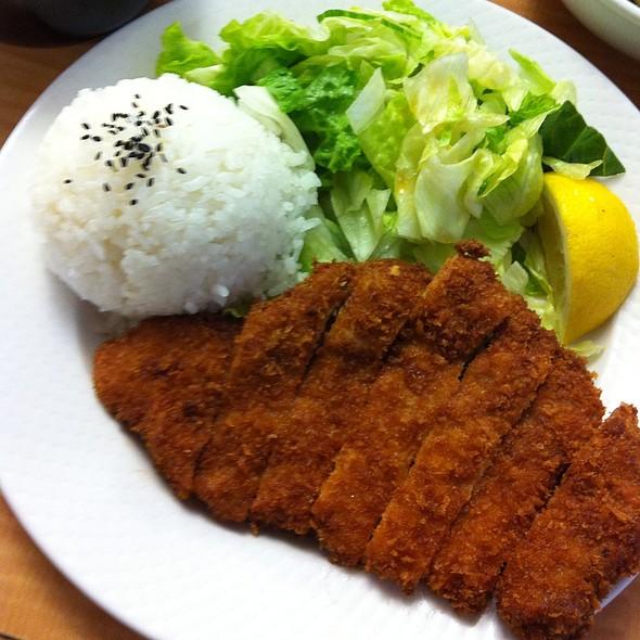 Chicken Teishoku @ Hi Genki Japanese Restaurant