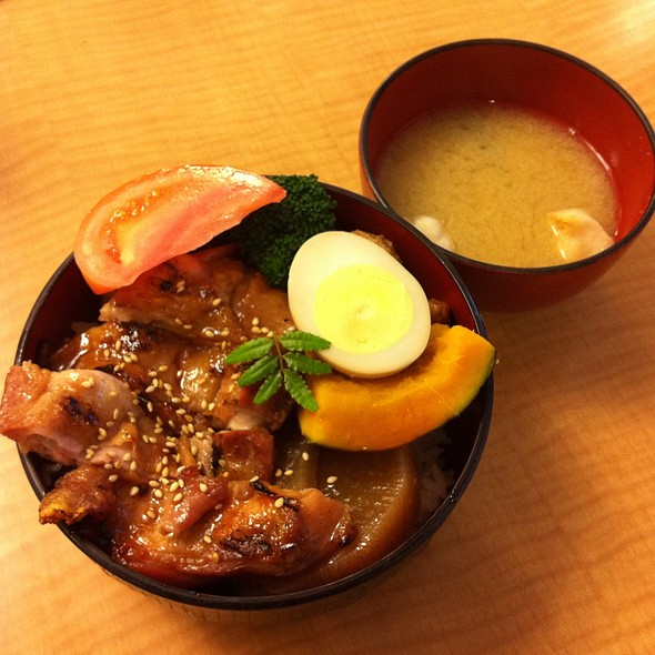 Chicken Yakitori Donburi @ Hi Genki Japanese Restaurant