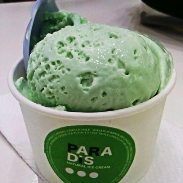 Wasabi Ice Cream @ Paradis Natural Ice Cream Il Terrazo