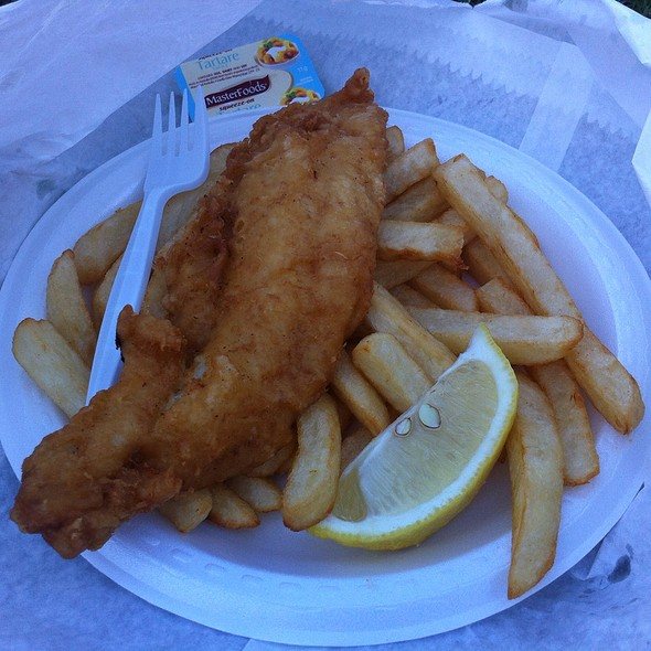 Fish and Chips @ Jimbo's Quality Seafood