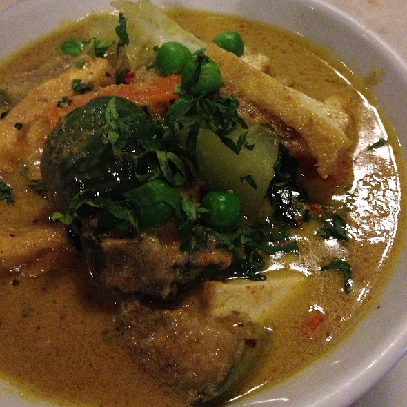 Vegetable curry @ Made's Warung