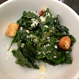 Dinosaur Kale Caesar Salad - Bin 14, Hoboken, NJ