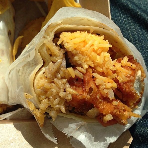Fried Chicken Burrito
