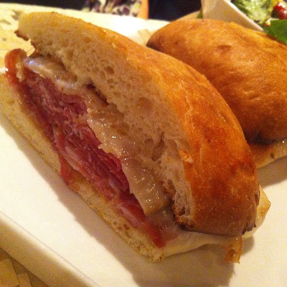 Spanish Serrano Ham Sandwich - Boca Bistro, Saratoga Springs, NY