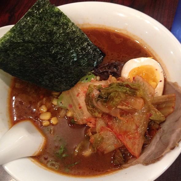 Kimchi Ramen @ Ramen Tenma