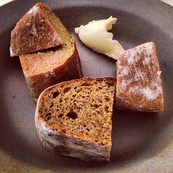 Beer and Rye Bread with Cultured Butter @ Alma