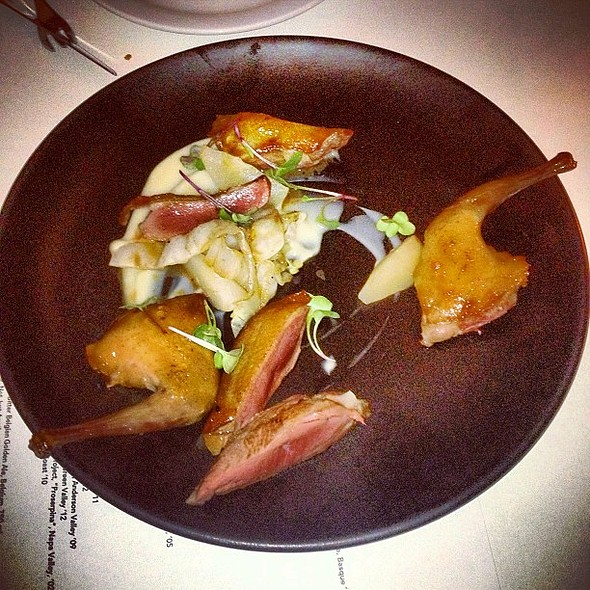 Gary Carpenter's Pigeon, Celery Root, Pears, Cabbage @ Alma