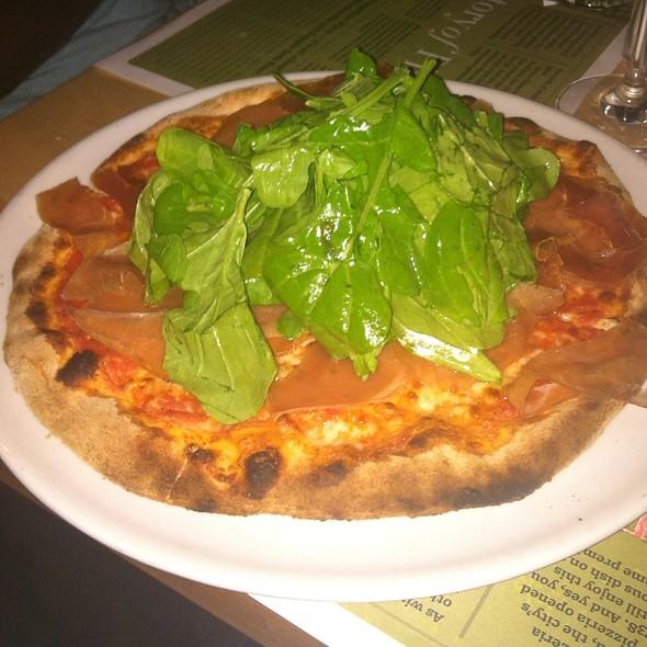 Proscuitto Arugula Pizza - Piero's Pizzavino, Palm Desert, CA